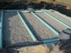 Filtre à sable vertical drainé